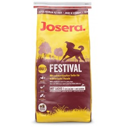 Josera 1215 dogs dry food Adult Corn,Poultry,Rice,Salmon 15 kg