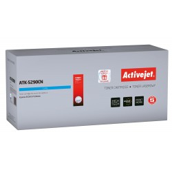 Activejet ATK-5290CN toner replacement Kyocera TK-5290C; Compatible; page yield: 13000 pages; Printing colours: Cyan. 5 years warranty