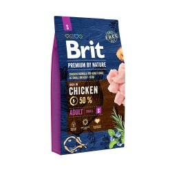 Brit 8595602526284 dogs dry food 1 kg Adult Chicken