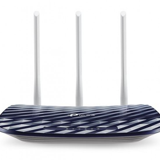 TP-LINK Archer C20 AC750 V4.0 wireless router Dual-band (2.4 GHz / 5 GHz) Fast Ethernet Navy